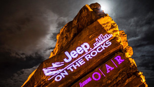 Jeep On The Rocks