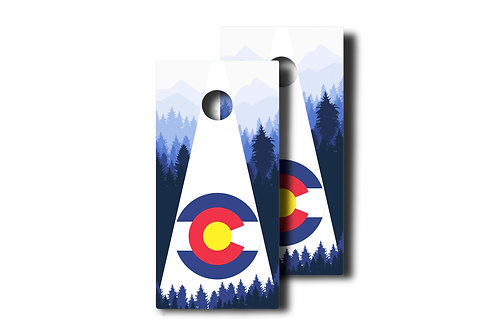 Colorado Tree Line Set