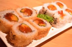 deep fried california roll &  tempura prawn roll.jpg