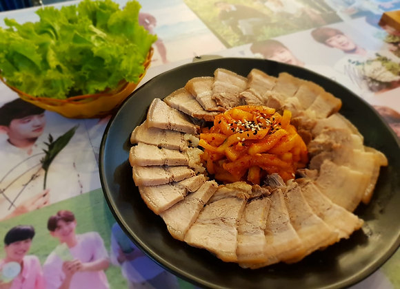 보쌈 Bossam 白煮肉