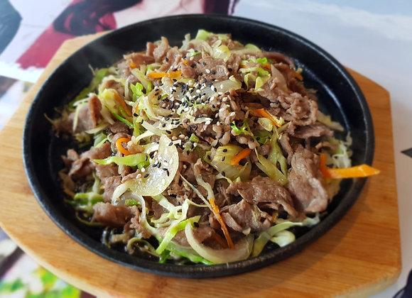 소 불고기 Beef Bulgogi 铁板牛肉