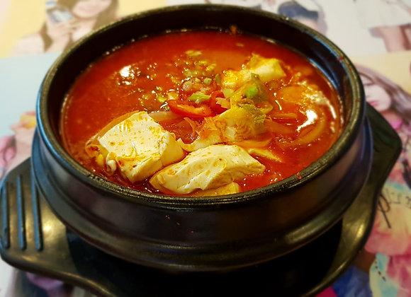 순두부찌개 Toufu Stew 豆腐汤