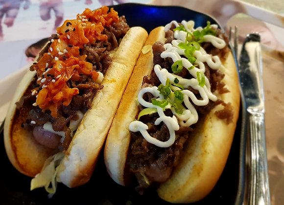 불고기 핫도그 Beef Bulgogi Hotdog 牛肉热狗