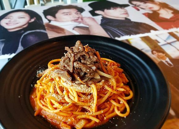 김치불고기 파스타 Kimchi Bulgogi Pasta 泡菜牛肉意面