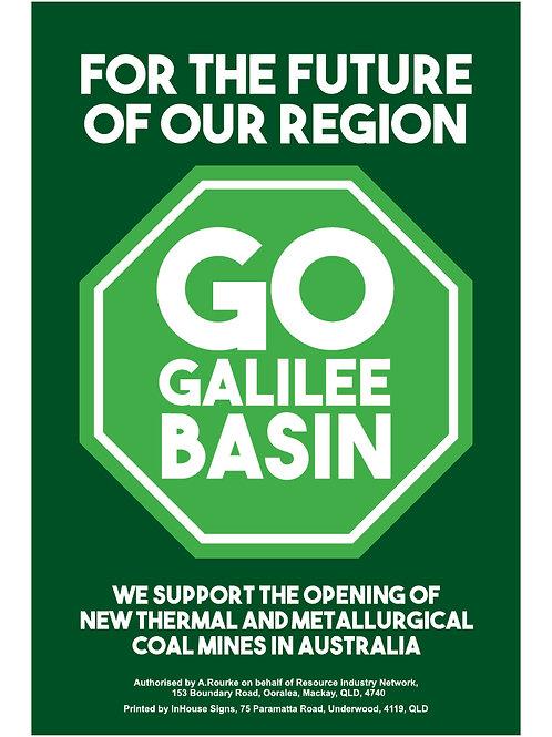 Go Galilee Basin CORFLUTE (green background)