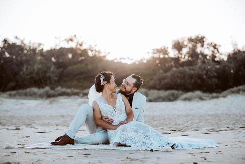 Sunshine Coast Beach Wedding