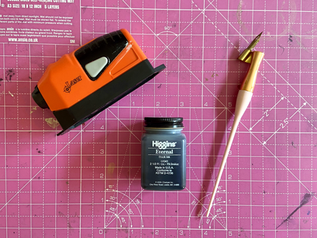 My top 5 must have calligraphy tools