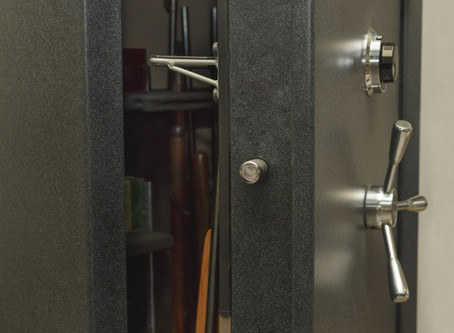 Locksmith opens safes