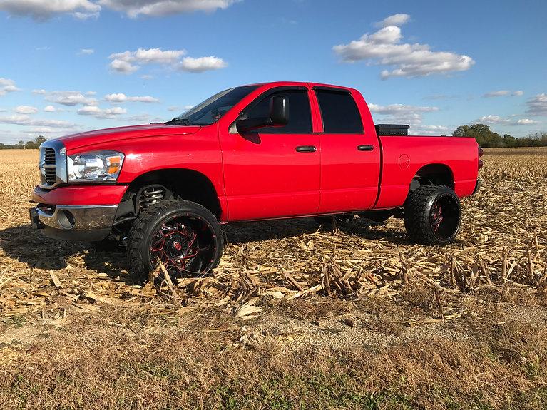 "Dodge Ram 2500 22"" wheels farm life coun"