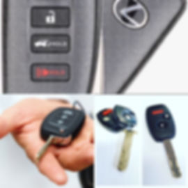 Car Keys Repaired and Programmed