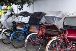 les vélo-taxis