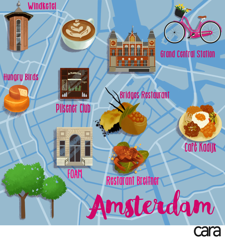 Amsterdam Map Cara