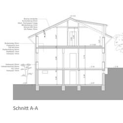 Wohnhaus Gratkorn - Schnitt