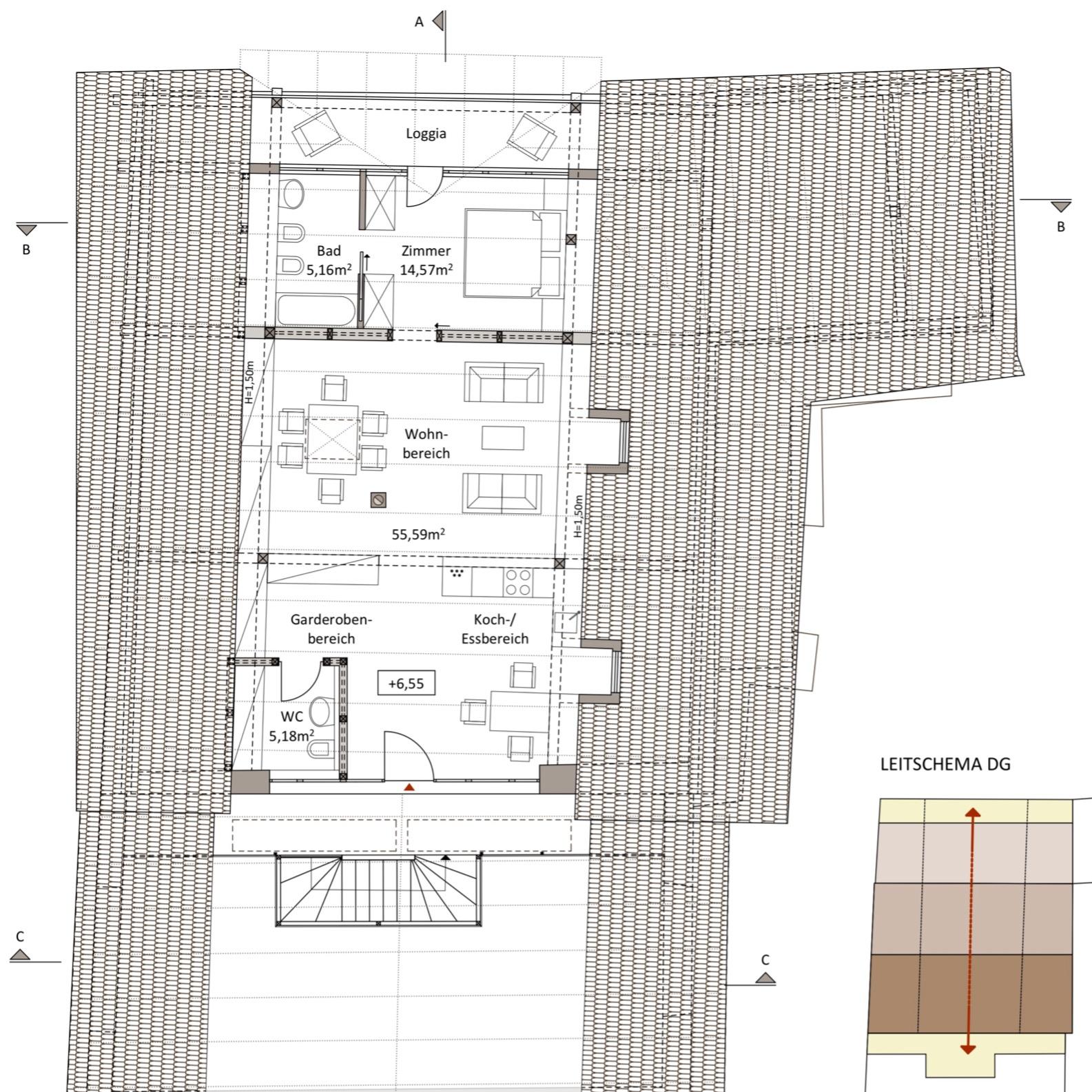 WB Bauernhaus - DG