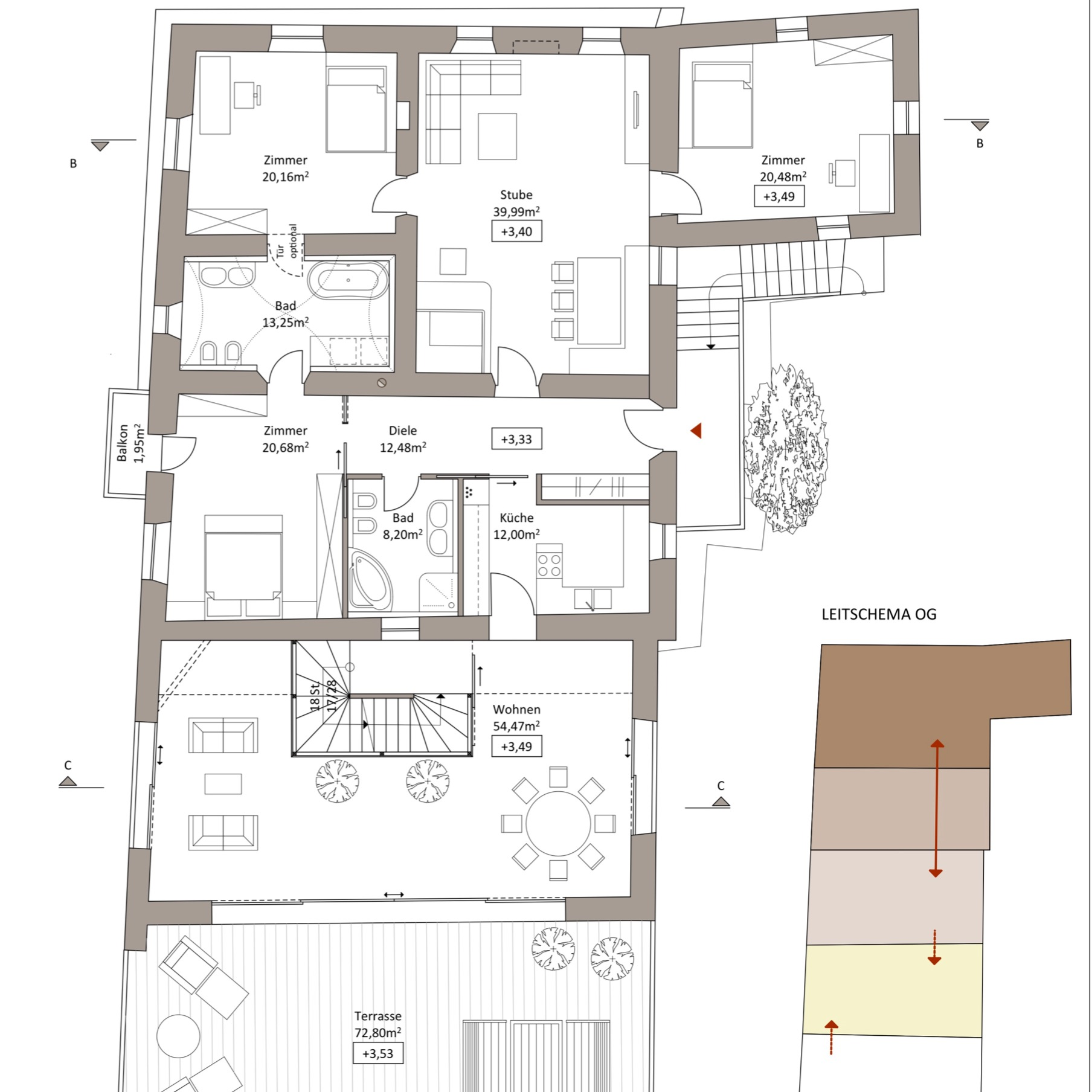 WB Bauernhaus - OG