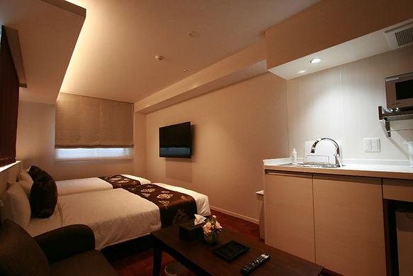 客室:201-1  ホテルグランドベース岡山駅前