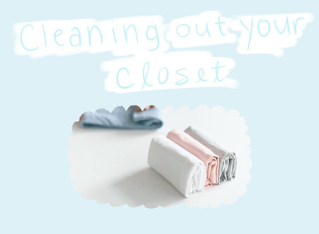 Cleaning Out Your Closet for 2020