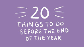20 Things to Do Before the End of the Year