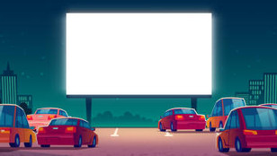 The Socially Distant Spectacle of Drive-Ins and Patios