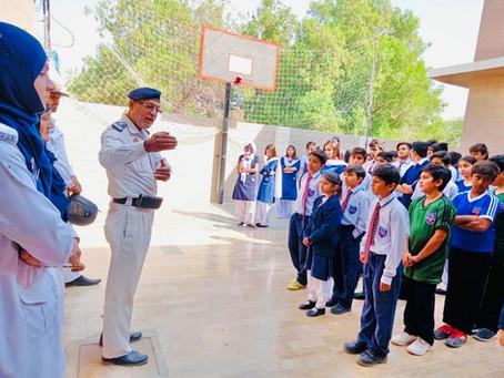 District Traffic Police Visit