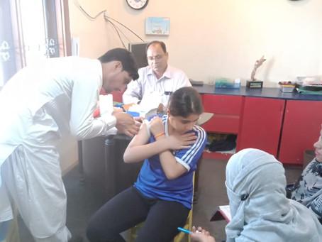 Flu shots at School