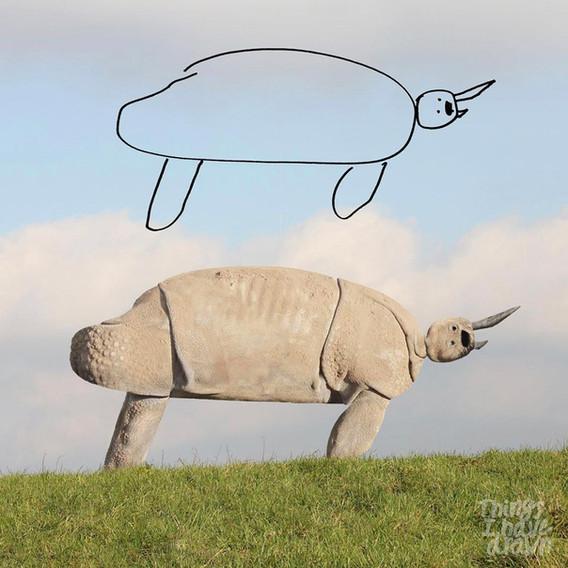 Rhino by Al