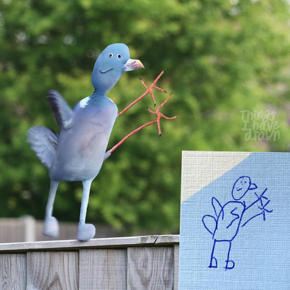 Pigeon by Al