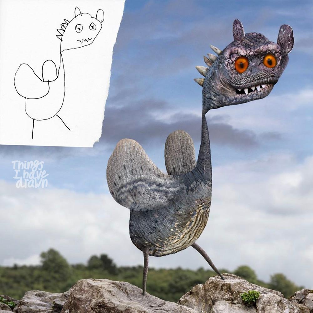 T Rex by Matilda