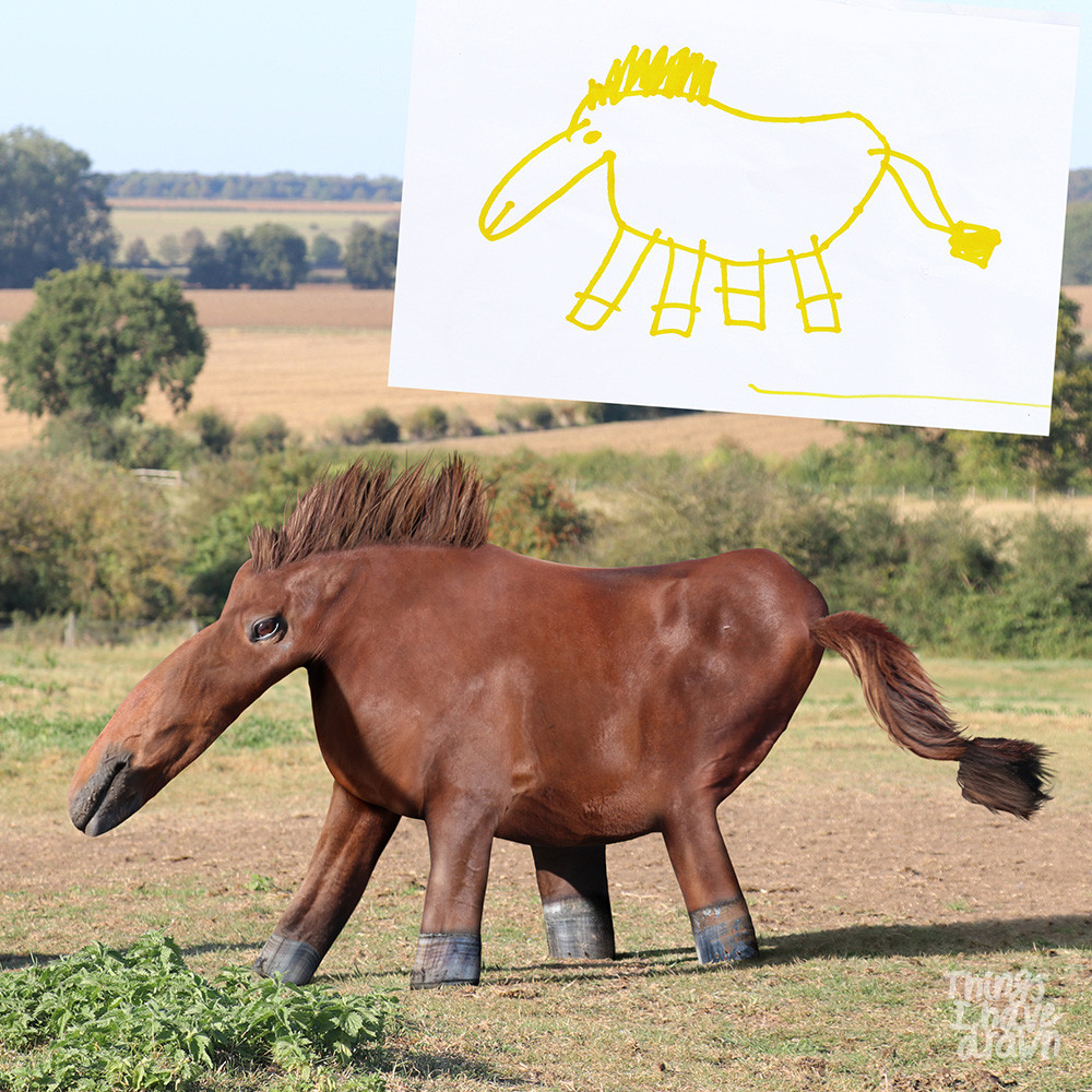 Horse by Beatrice