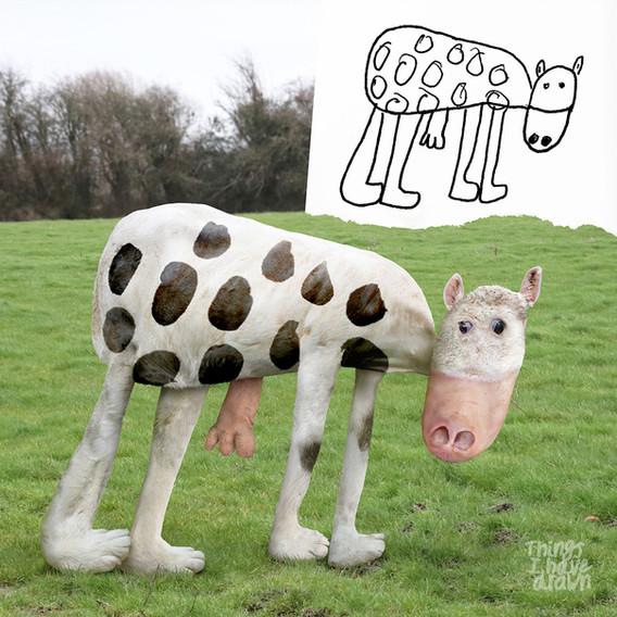 Cow by Al