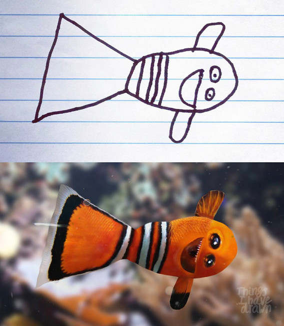 Clown Fish by Dom