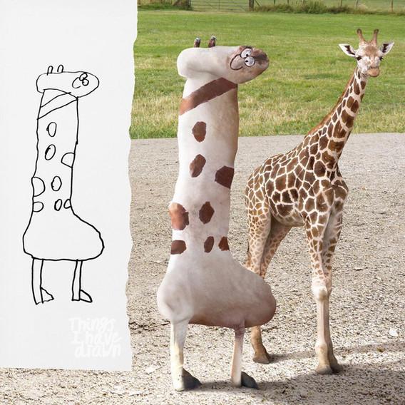 Giraffe by Dom