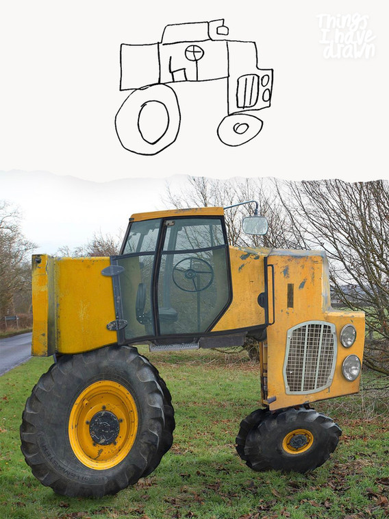 Tractor by Dom
