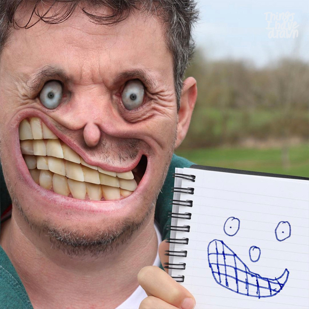 Teethy Pete by Dom