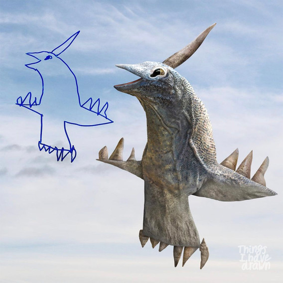 Pterodactyl by Eden