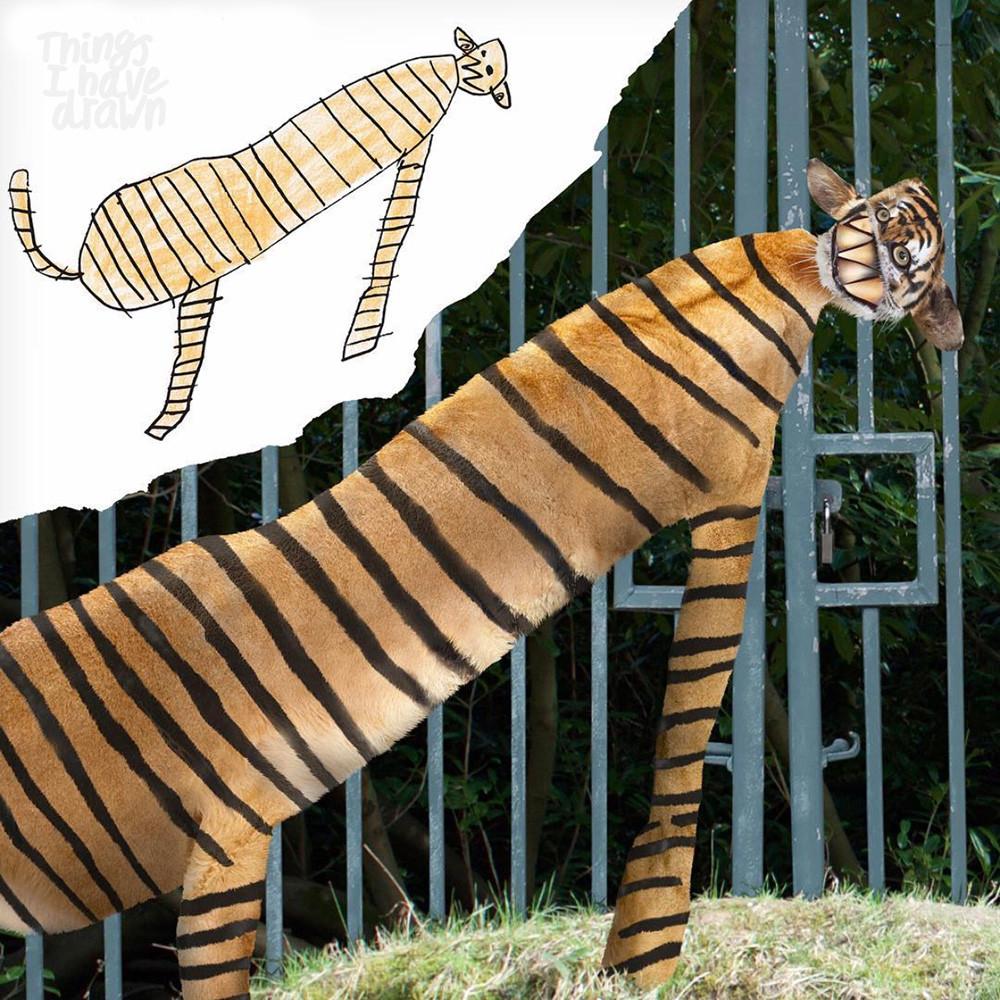 Tiger by Dom