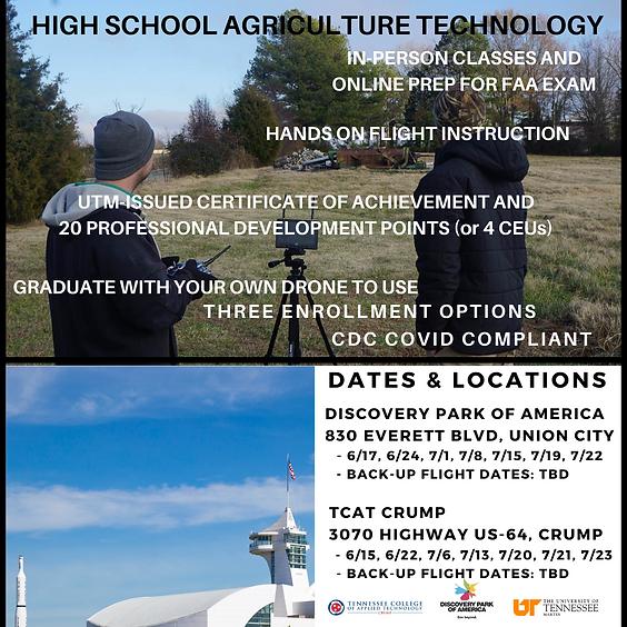 Teach-the-Teacher UAS in agriculture