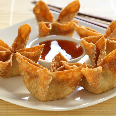 Crab Cheese Puffs  - Hunan Village Fortuna - Humboldt's Premier Chinese Restaurant