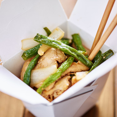 Green Bean Chicken  - Hunan Village Fortuna - Humboldt's Premier Chinese Restaurant