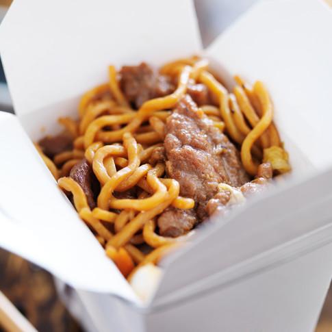 Beef Chow Mein  - Hunan Village Fortuna - Humboldt's Premier Chinese Restaurant