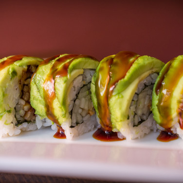 Catepillar Sushi Roll from Kome Sushi Fortuna