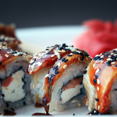Unagi Sushi Roll from Kome Sushi Fortuna