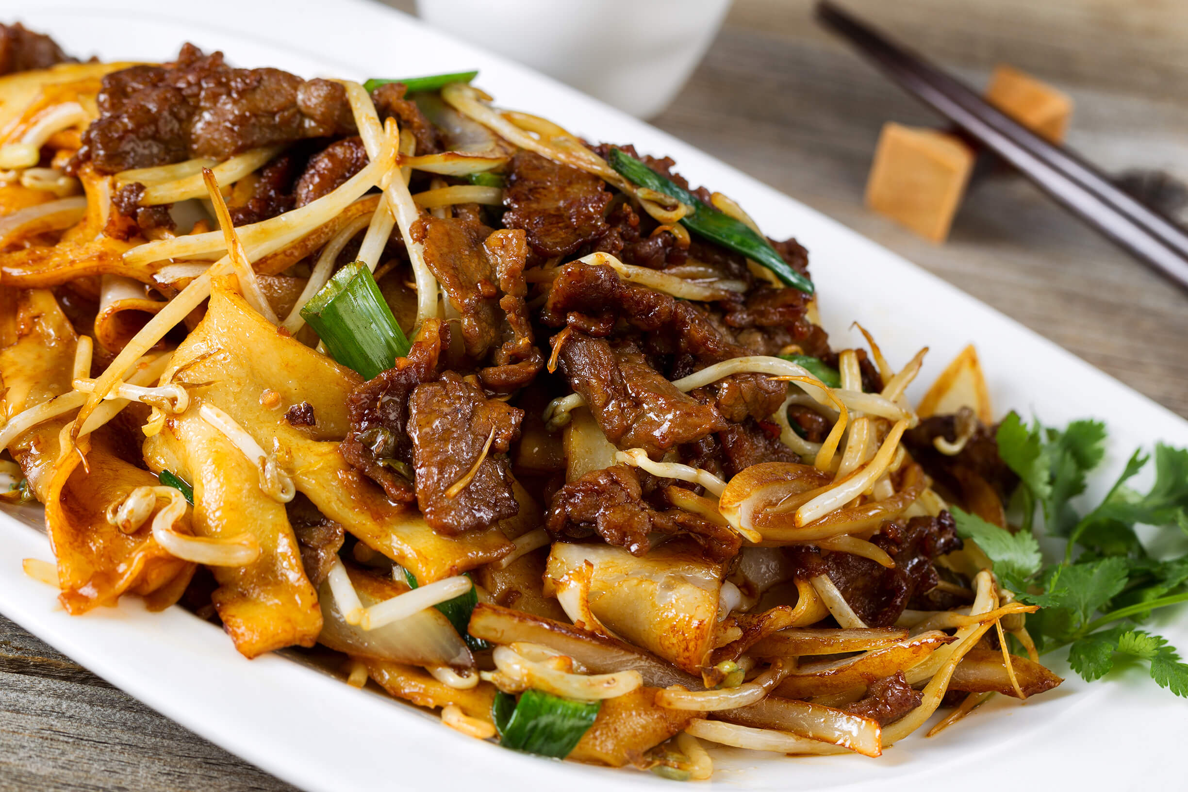 Beef Chow Fun Noodles