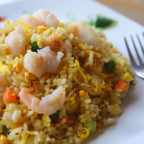 Shrimp Fried Rice  - Hunan Village Fortuna - Humboldt's Premier Chinese Restaurant