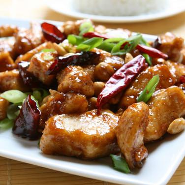 Kung Pao Chicken  - Hunan Village Fortuna - Humboldt's Premier Chinese Restaurant