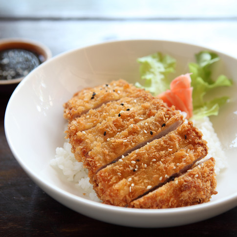 Japanese Katsu with Rice from Kome Sushi Fortuna