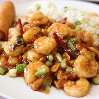 Shrimp Stirfry  - Hunan Village Fortuna - Humboldt's Premier Chinese Restaurant