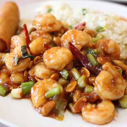 Shrimp Stirfry  - Hunan Village Fortuna - Humboldt's Premier Chinese Restaurant
