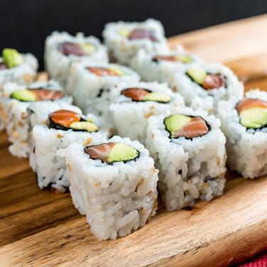 Salmon Avocado Sushi Rolls from Kome Sushi Fortuna