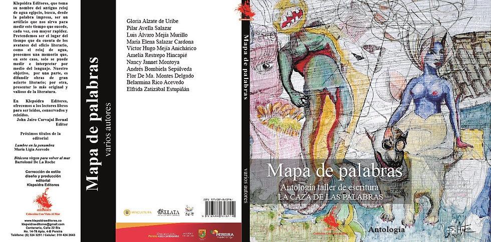 Mapa de palabras: Antología de cuento y poesía